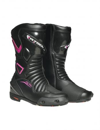 R-Tech Lady Pilot Motorcycle Leather Boot