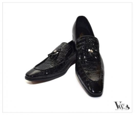Crocodylinae VampWelt loafers for Men