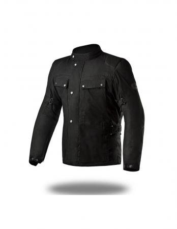 Premium Quality Textile-Wax biker jacket Textile motorcycle jacket, best textile motorcycle jacket with CE approved shoulder and elbow protectors, back normal, mens textile motorcycle jacket, best textile motorcycle jacket 2020 with Accordion Stretch panels on under arm for extra stretch during riding, cool summer motorcycle jacket with Reflective elements for night time visibility