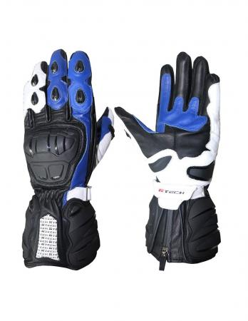 R-Tech Hawks Motorbike Racing Leather Gloves