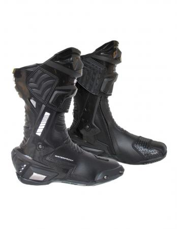 4RIDERS Motorcycle Racing Boots , TPU gear panel