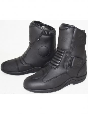 motorcycle touring boots with Long zipper with handle on the side for easy adjustment, mens motorcycle touring boots, cheap motorcycle waterproof touring boots, best motorcycle touring boots 2019 for sale, motorcycle touring boots with Velcro adjustment, best long motorcycle touring boots 2020
