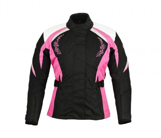 PROFIRST A STAR LADIES MOTORCYCLE JACKET (PINK)