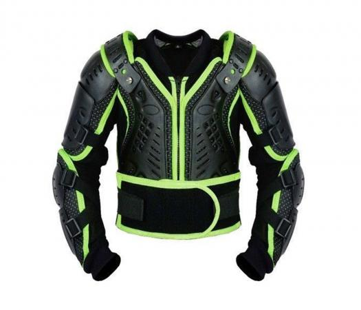 PROFIRST KIDS MOTORCYCLE BODY ARMOR (GREEN)