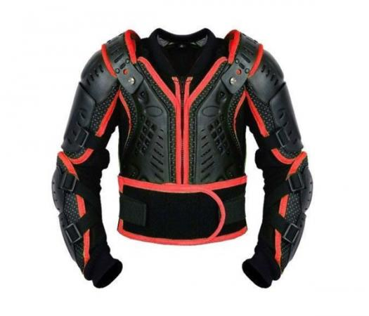 PROFIRST KIDS MOTORCYCLE BODY ARMOR (RED)