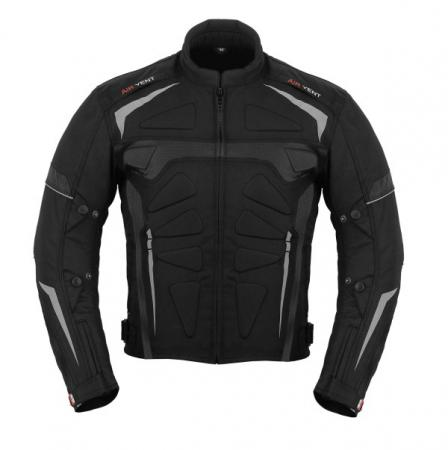 PROFIRST MOTOWIZARD CORDURA MOTORCYCLE JACKET (BLACK)