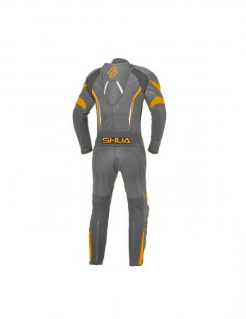 Shua Infinity 1PC Leather Suit (Black/Orange)