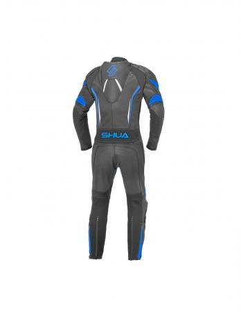 Shua Infinity 1PC Leather Suit (Black/Blue)