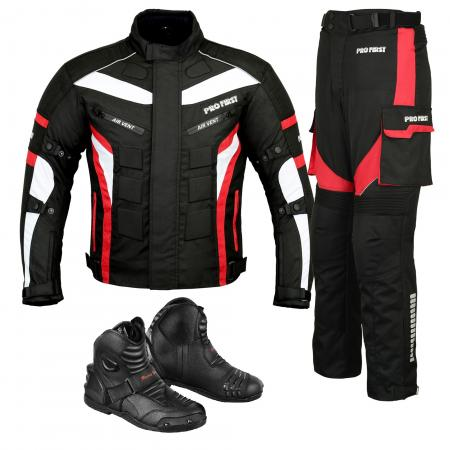 Motorbike 600d Cordura Fabric Protective Men's Trouser, Textile biker MEN'S SUIT WITH LEATHER BOOTS , Textile motorcycle jacket with Air Vents, textile motorcycle jacket with CE approved Protectors, best textile motorcycle jacket with Removable lining, textile motorcycle jacket, mens textile motorcycle jacket, best textile motorcycle jacket 2020,