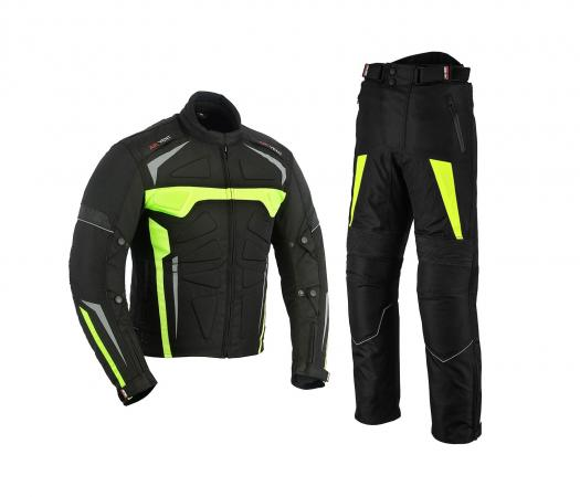 MOTOWIZARD SUIT FOR MEN CORDURA GREEN WATERPROOF