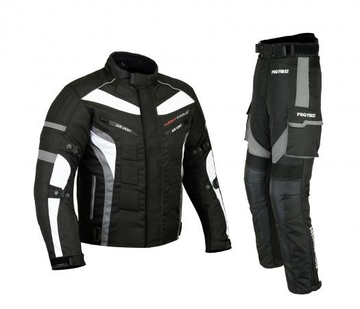 MOTORBIKE textile SUIT and pant set, MOTORBIKE textile SUIT WITH CE Approved Shoulder, Elbow & Back Protectors, MOTORBIKE textile set WITH CE Approved Protectors, MOTORBIKE textile set with Air Vents, MOTORBIKE textile set with Reflective Panels,  MOTORBIKE textile set with Removable lining,